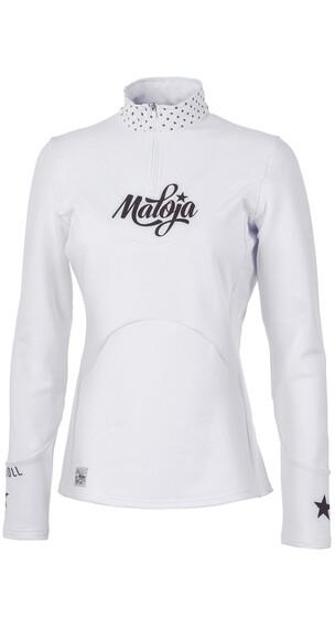 Maloja CorvallisM. LS Shirt Women snow